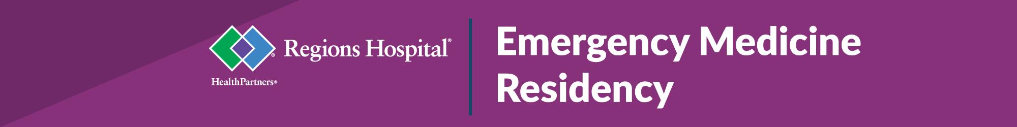 Residency – Regions Emergency Medicine Residency